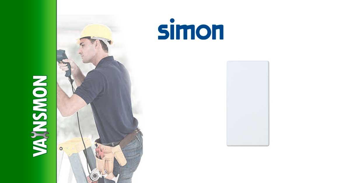 Placa ciega modulo estrecho 27800-31 Simon 27800-31